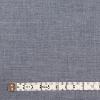 コットン&テンセル混×無地(アッシュネイビー)×シャンブレー・ローン_全3色 サムネイル4