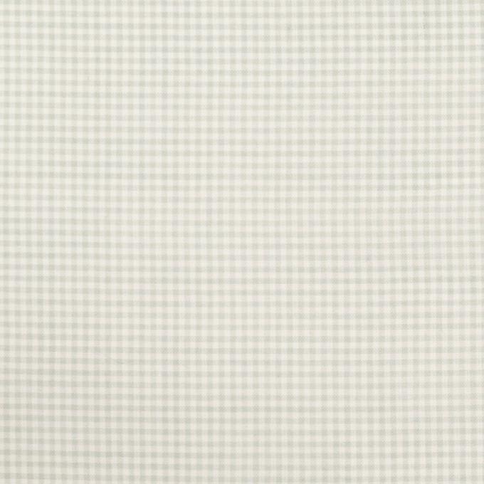 コットン×チェック(グリーンフォッグ)×シーチング_全2色 イメージ1
