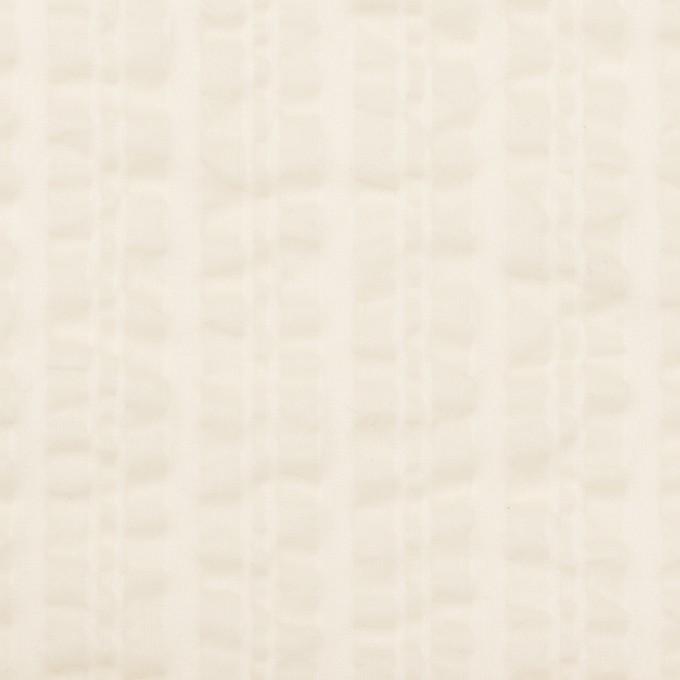コットン×無地(アイボリー)×ボイルサッカー_全2色 イメージ1