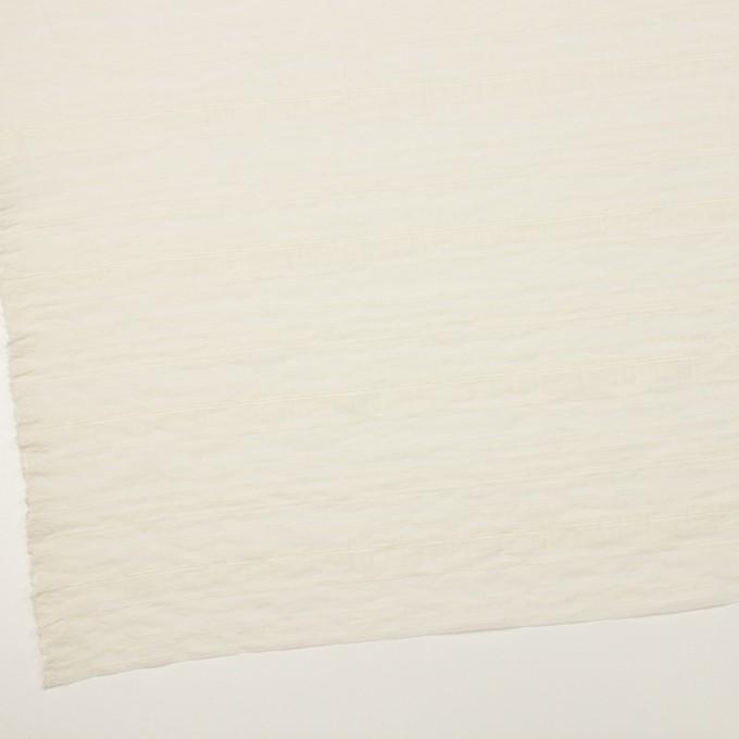 ナイロン&コットン×ボーダー(キナリ)×オーガンジー・ジャガード イメージ2