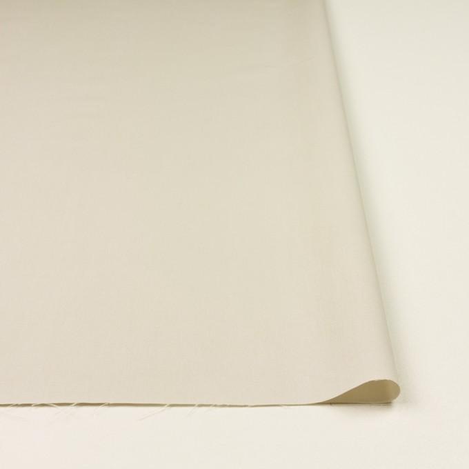 コットン×無地(アイボリー)×ブロード イメージ3