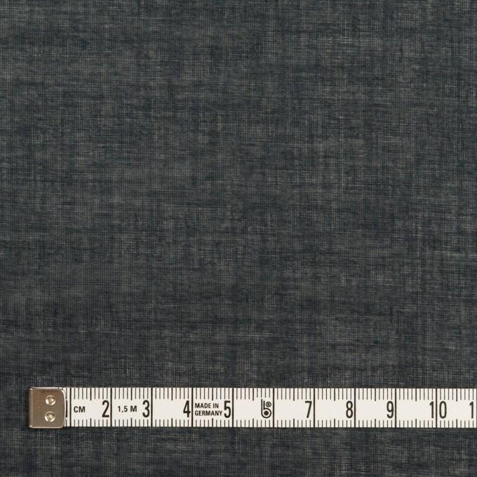 コットン×無地(アッシュネイビー)×ボイル イメージ4