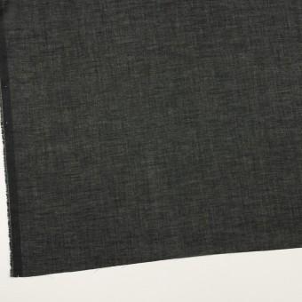 コットン×無地(ブラック)×ボイル サムネイル2