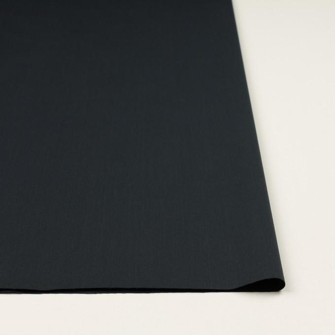 コットン&ポリアミド×無地(アッシュネイビー)×サテン_イタリア製 イメージ3
