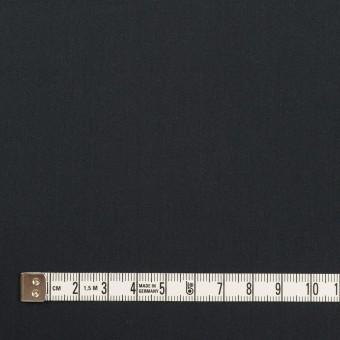 コットン&ポリアミド×無地(アッシュネイビー)×サテン_イタリア製 サムネイル4
