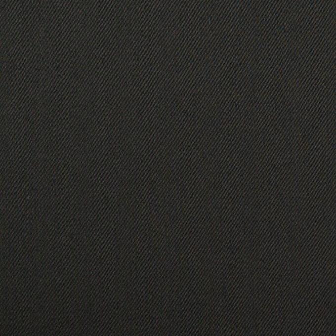 コットン×無地(ブラック)×サテン イメージ1