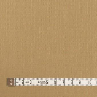 コットン&シルク×無地(カーキベージュ)×サージ_全4色 サムネイル4