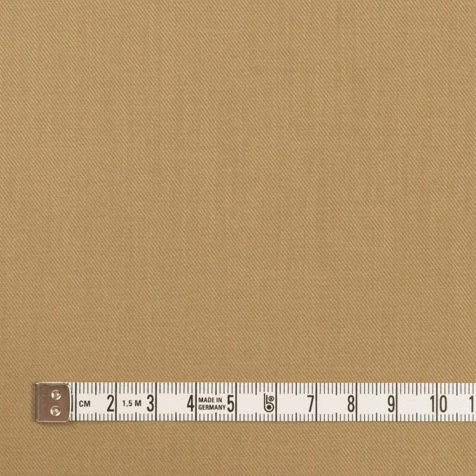 コットン&シルク×無地(カーキベージュ)×サージ_全4色 イメージ4