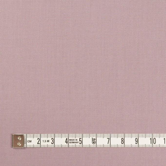 コットン&シルク×無地(グレイッシュピンク)×サージ_全4色 イメージ4
