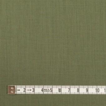 コットン&シルク×無地(カーキグリーン)×サージ_全4色 サムネイル4