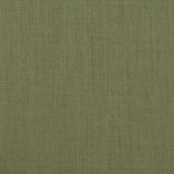 コットン&シルク×無地(カーキグリーン)×サージ_全4色 サムネイル1