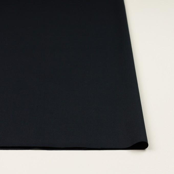 コットン&シルク×無地(ブラック)×サージ_全4色 イメージ3
