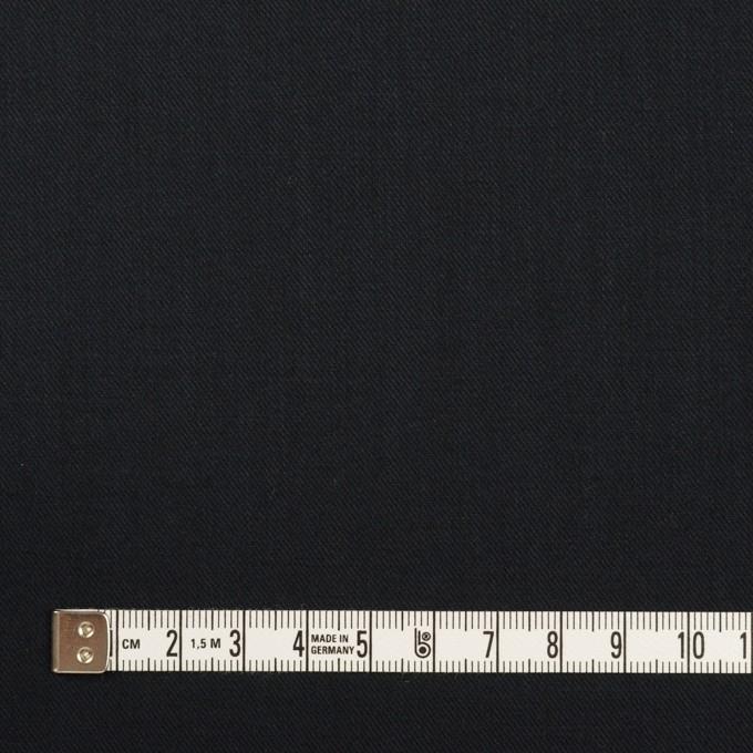 コットン&シルク×無地(ブラック)×サージ_全4色 イメージ4