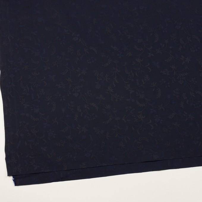 コットン×フラワー(ネイビー)×ブロードジャガード イメージ2