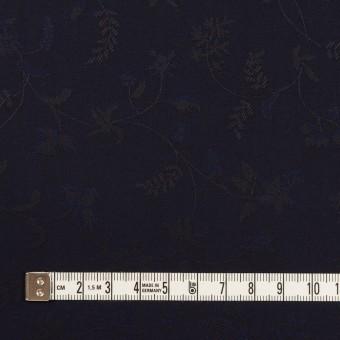 コットン×フラワー(ネイビー)×ブロードジャガード サムネイル4