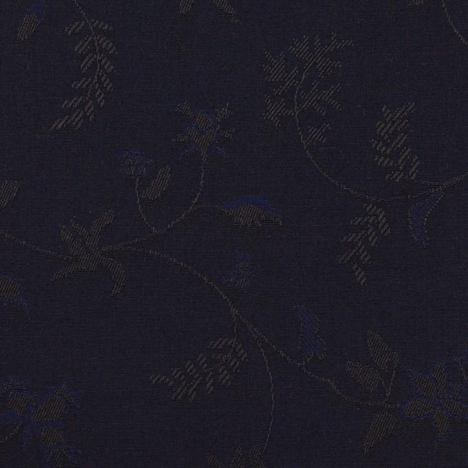 コットン×フラワー(ネイビー)×ブロードジャガード イメージ1