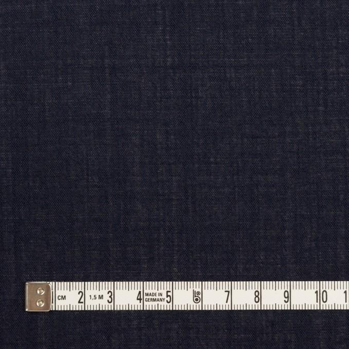 ウール×無地(ネイビー)×ボイル_イタリア製 イメージ4
