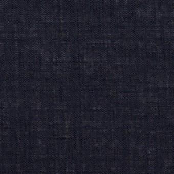 ウール×無地(ネイビー)×ボイル_イタリア製 サムネイル1