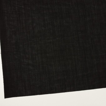 ウール×無地(ブラック)×ボイル サムネイル2