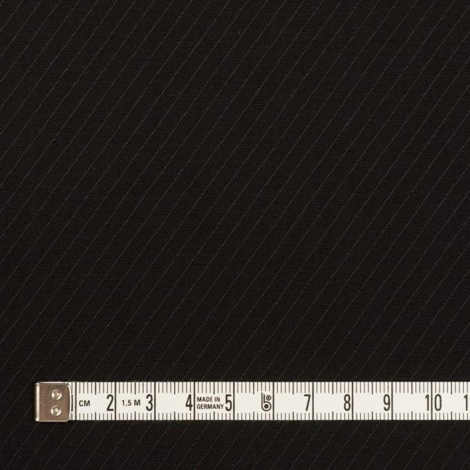 ウール×無地(ブラック)×ボイルジャガード イメージ4