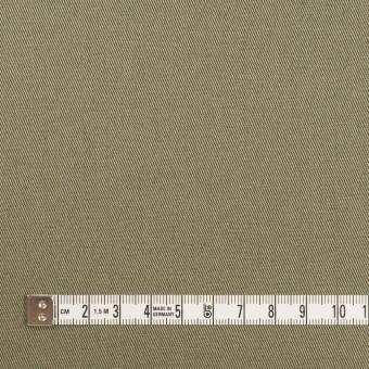 コットン×無地(アッシュカーキグリーン)×チノクロス サムネイル4