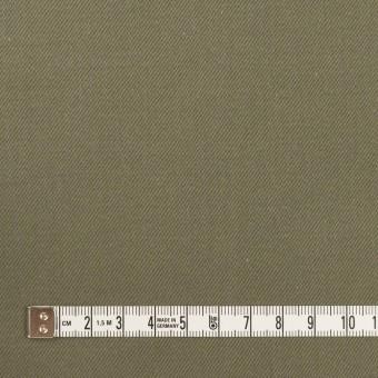 コットン&ナイロン×無地(アッシュカーキグリーン)×チノクロス サムネイル4