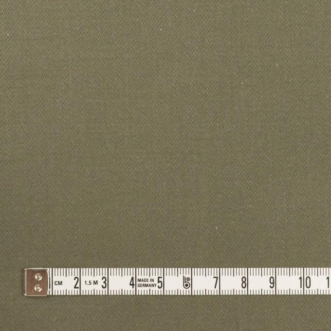 コットン&ナイロン×無地(アッシュカーキグリーン)×チノクロス イメージ4