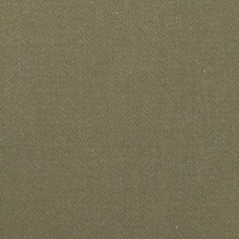 コットン&ナイロン×無地(アッシュカーキグリーン)×チノクロス サムネイル1
