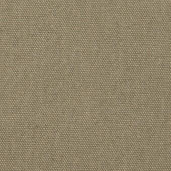 コットン&リネン×無地(グレイッシュカーキ)×厚オックスフォード