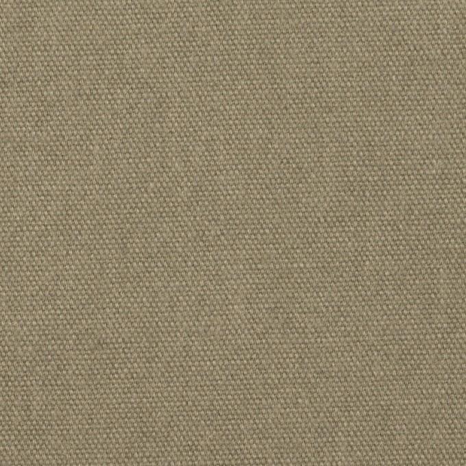 コットン&リネン×無地(グレイッシュカーキ)×厚オックスフォード イメージ1