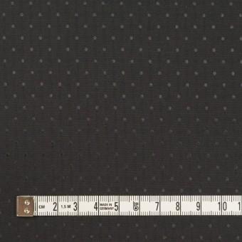 ポリエステル×ドット(ブラック)×タフタジャガード サムネイル4