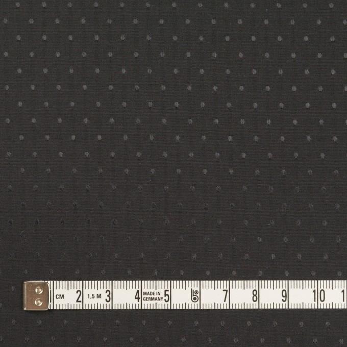 ポリエステル×ドット(ブラック)×タフタジャガード イメージ4