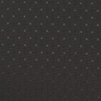 ポリエステル×ドット(ブラック)×タフタジャガード サムネイル1