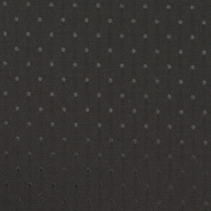 ポリエステル×ドット(ブラック)×タフタジャガード イメージ1