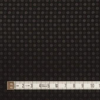 ポリエステル×ドット(ブラック)×ボイルジャガード サムネイル4
