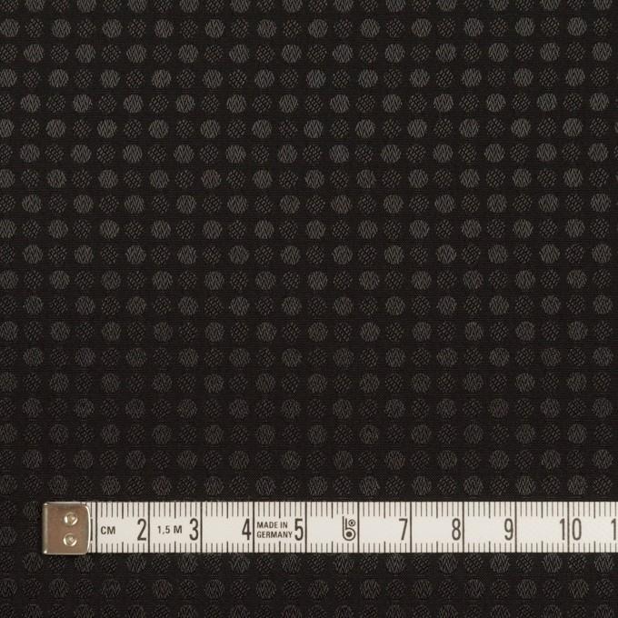 ポリエステル×ドット(ブラック)×ボイルジャガード イメージ4