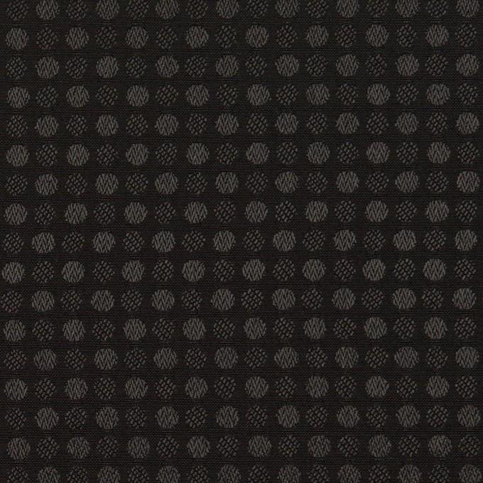 ポリエステル×ドット(ブラック)×ボイルジャガード イメージ1