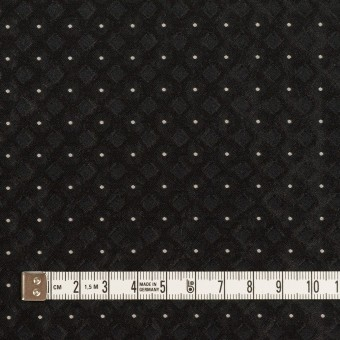 ポリエステル×ドット(ブラック)×形状記憶ジャガード サムネイル4