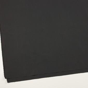 コットン&ポリアミド×無地(チャコール)×高密ブロード_イタリア製_全2色 サムネイル2