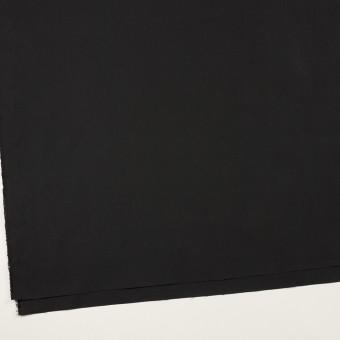 コットン&ポリアミド×無地(チャコールブラック)×高密ブロード_イタリア製_全2色 サムネイル2