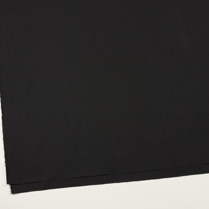 コットン&ポリアミド×無地(チャコールブラック)×高密ブロード_イタリア製_全2色 イメージ2