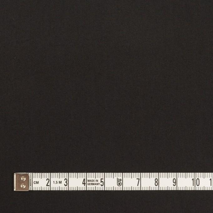 コットン&ポリアミド×無地(チャコールブラック)×高密ブロード_イタリア製_全2色 イメージ4