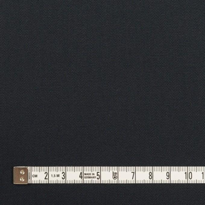 コットン×無地(ダークネイビー)×ヘリンボーン_全2色 イメージ4
