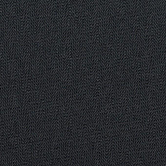 コットン×無地(ダークネイビー)×ヘリンボーン_全2色 イメージ1