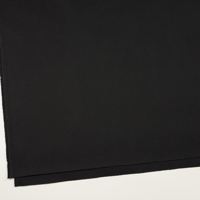 コットン×無地(ブラック)×ヘリンボーン_全2色 イメージ2