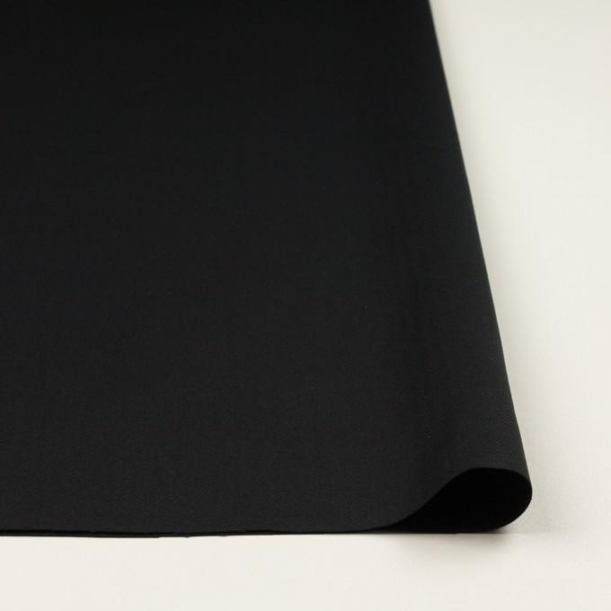 コットン×無地(ブラック)×ヘリンボーン_全2色 イメージ3