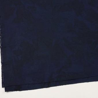 コットン×幾何学模様(ミッドナイトブルー)×ジャガード サムネイル2