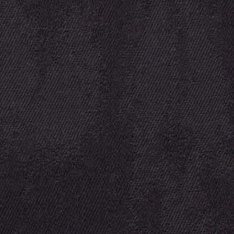 コットン&ポリウレタン×幾何学模様(ダークグレープグレー)×ジャガード・ストレッチ サムネイル1