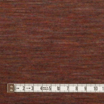 ウール&ナイロン×ボーダー(セピア)×天竺ニット サムネイル4