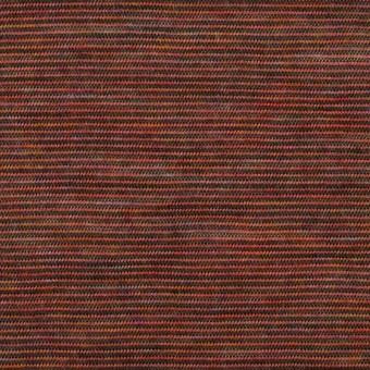ウール&ナイロン×ボーダー(セピア)×天竺ニット